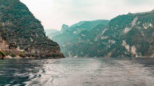A view of Yangtze River