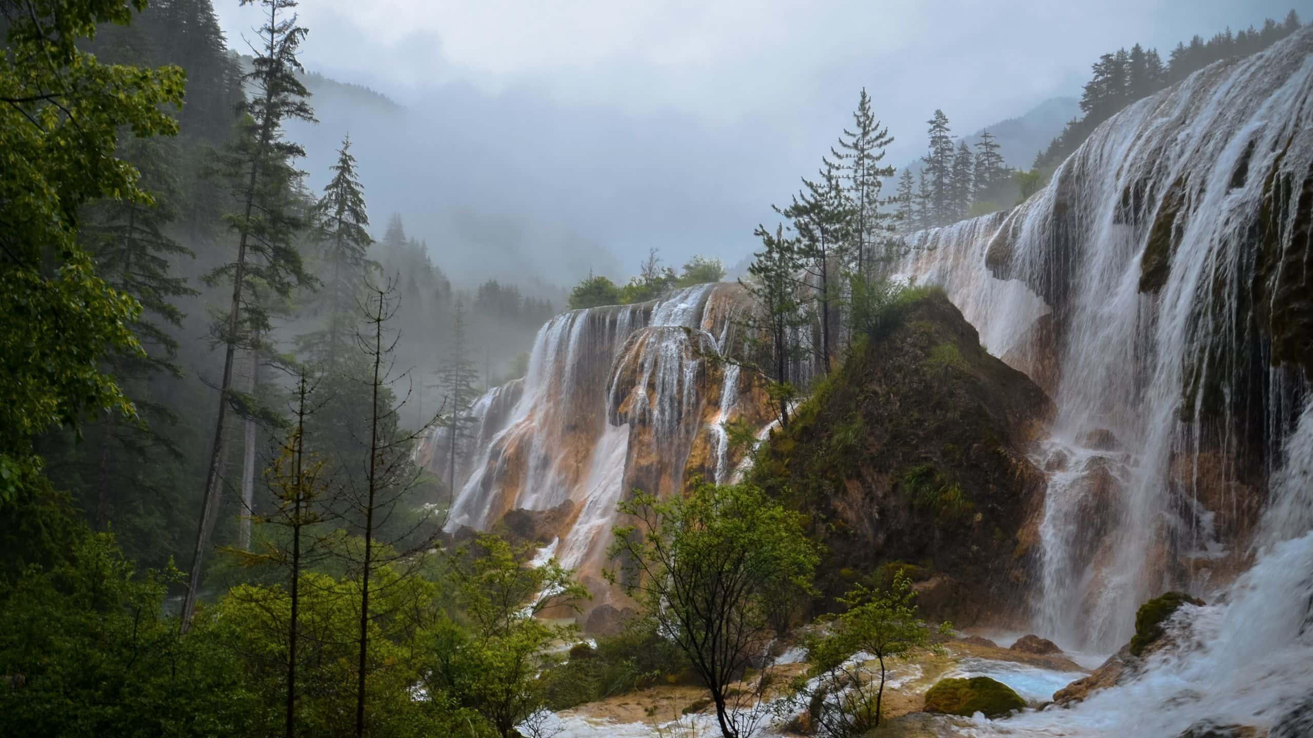 Impressive waterfalls at Aba, Sichuan