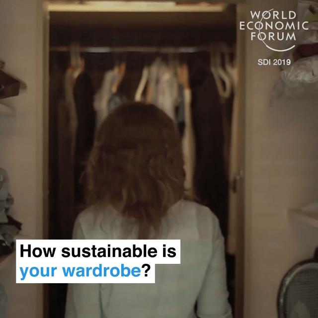你的衣柜足够绿色吗?