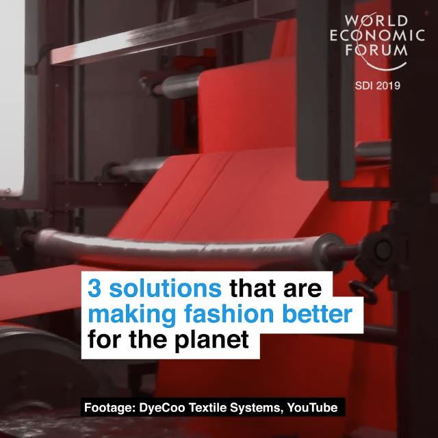 让时装产业更加环境友好的3种方法