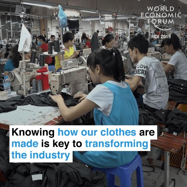 了解衣服的生产过程,是革新时装产业的关键