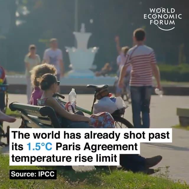 我们已经超过了巴黎协定中预定的升温1.5摄氏度上限