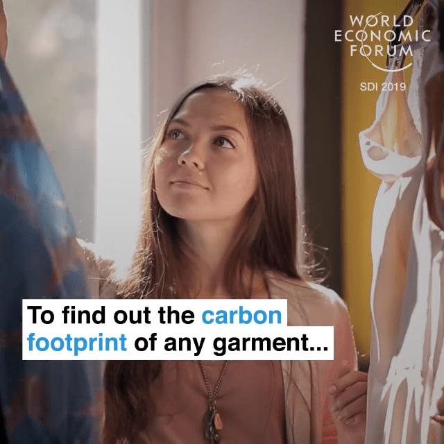 就可以了解每一件衣服的碳足迹