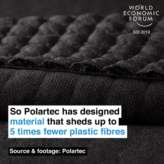 因此普澜特(Polartec)公司设计了新面料,最多能减少八成的塑料纤维脱落