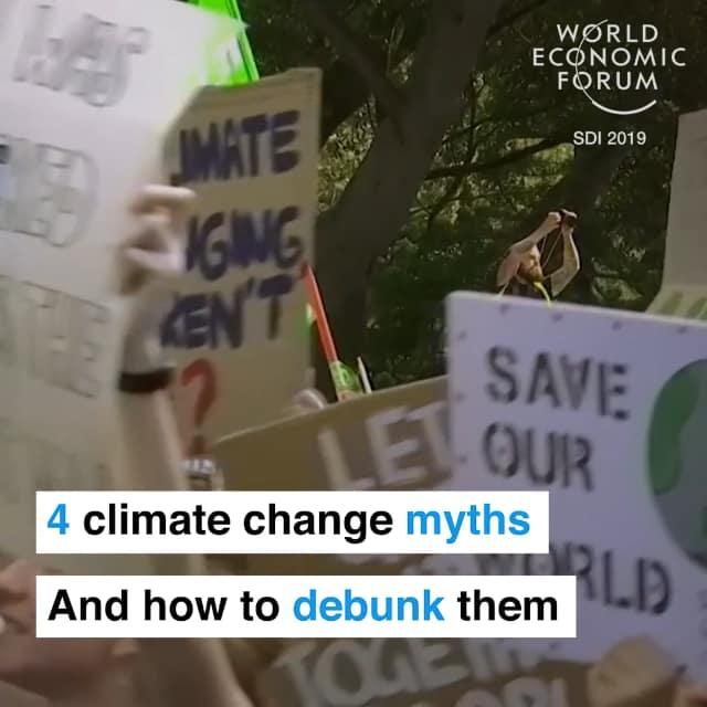 关于气候变化的4个谣言以及如何拆穿他们