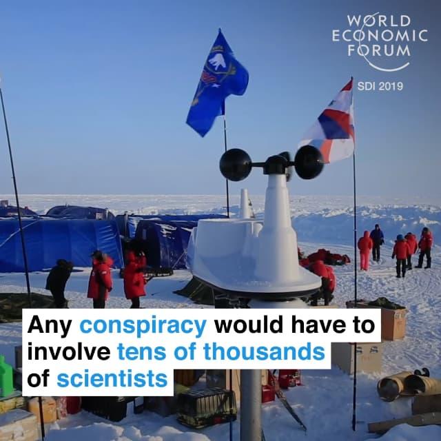 如果有任何造假的阴谋,这必将涉及成千上万的科学家