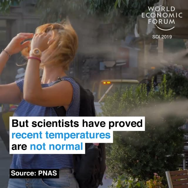但是科学已证明,近年来的气温是不正常的