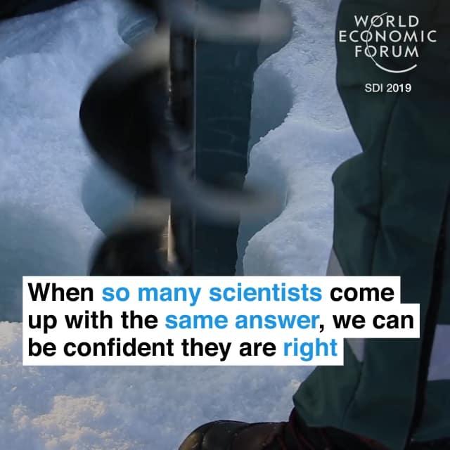 所以当很多科学家的结论一致时,我们可以相信他们是正确的