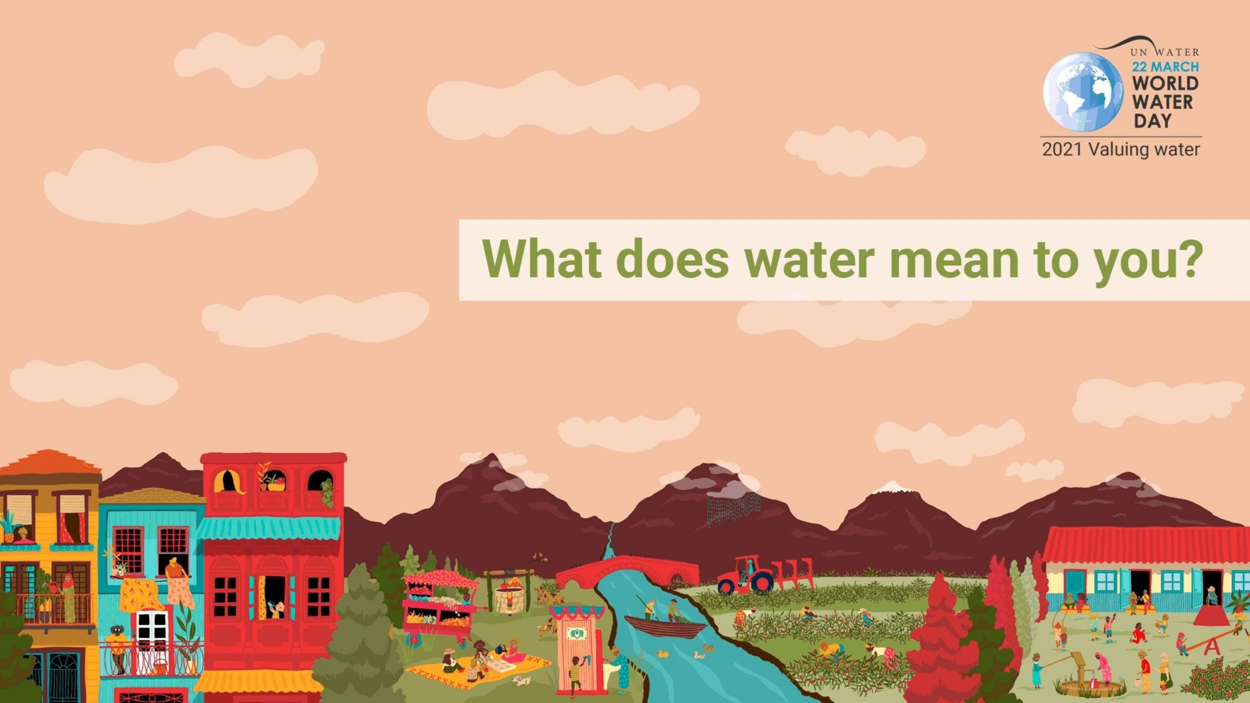 What does water mean to you?