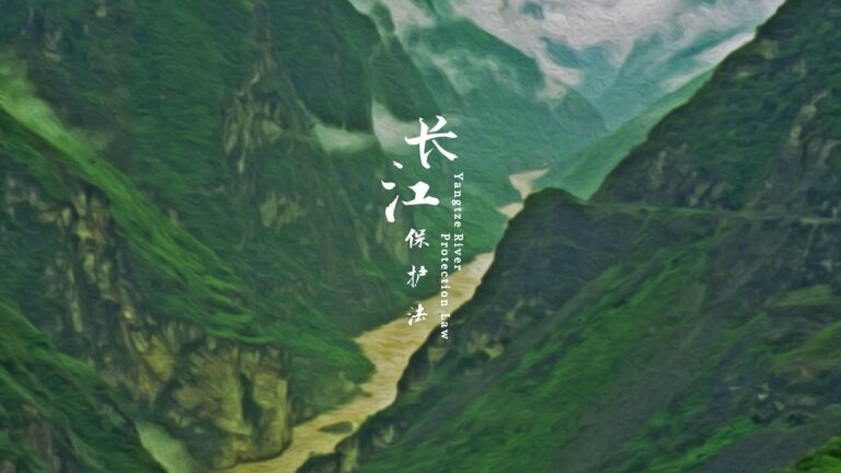 Li Yisong: New Mode Opened by Yangtze River Legislation